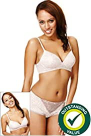 2 Pack Assorted Non-Wired T-Shirt A-D Bras