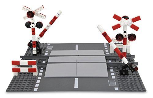 107936-1 Bahnübergang Einzelspur wie LEGO 7936