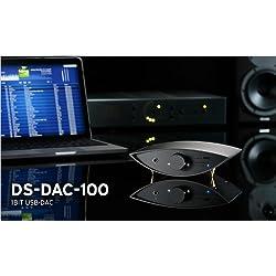 KORG コルグ DSDネイティブ再生対応USB DACブラック DS-DAC-100