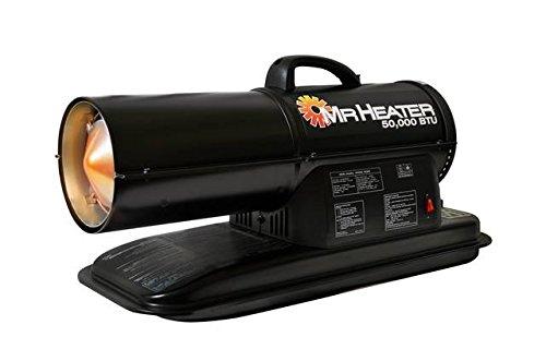 Mr. Heater F270255 MH50KR Contractor 50,000-BTU Forced-Air Kerosene Heater (Mr Heater 50000 compare prices)