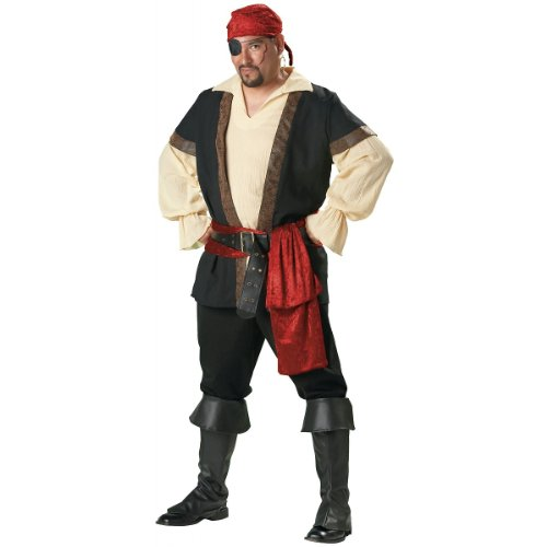 Pirate Costume - XX-Large - Chest Size 50-52