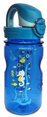 Nalgene 'Everyday OTF Kids' 0,375 L, blau, Motiv Seepferdchen