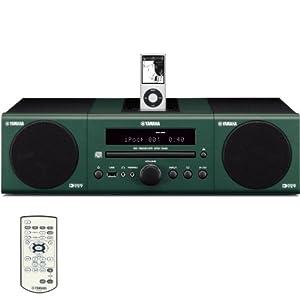 Yamaha MCR-040GN Micro Component System (Dark Green)