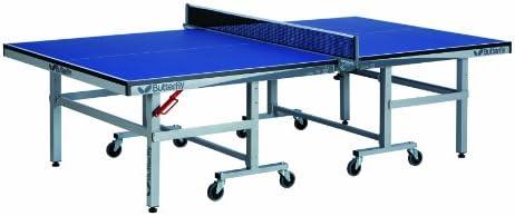 Butterfly Octet Rollaway Table Tennis Table Blue