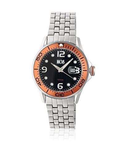 Mos Reloj con movimiento cuarzo japonés Mospb107 Plateado 44  mm