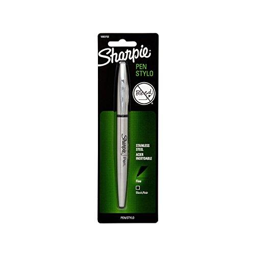 sharpie-stainless-steel-grip-pen-fine-point-black-1-count
