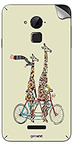 GsmKart CN3 Mobile Skin for Coolpad Note 3 (Note 3-733)