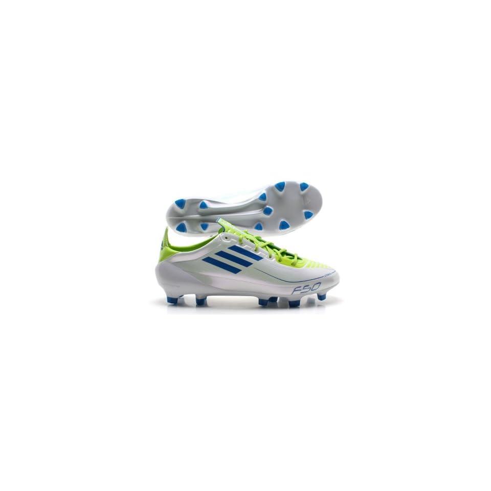 adidas Fußballschuhe F50 adizero FG weißgrün Schuhe on