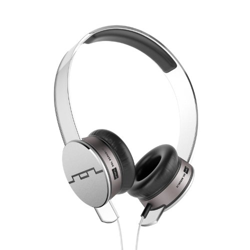 SOL REPUBLIC Tracks Headphones with Three-Button Remote and Microphone (White)