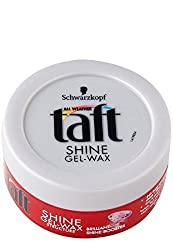 Schwarzkopf Taft Shine Gel -Wax 75 ml With Ayur Sunscreen Lotion 50ml