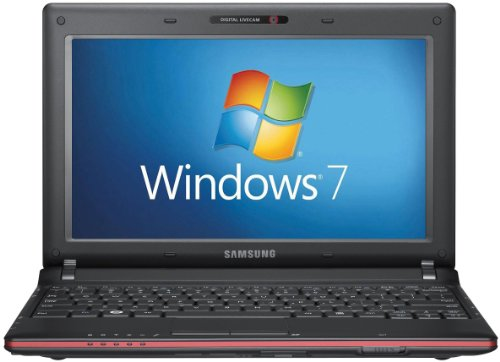 Samsung N145 Plus 10.1 inch Netbook PC (Intel Atom N450 1.66GHz, 1GB RAM, 250GB HDD, Webcam, Win 7 Starter) - Black