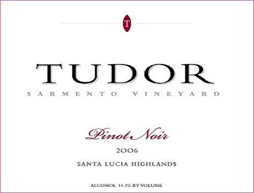 2006 Tudor Wines Pinot Noir Vineyard Santa Lucia Highland Sarmento 750 Ml