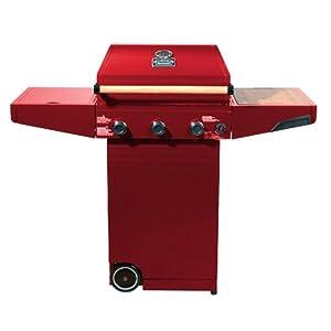 Minden Grill Company MMR1000 30,000-BTU Master Grill, Red