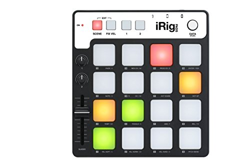 Great Deal! IK Multimedia iRig PADS Portable MIDI Groove Controller
