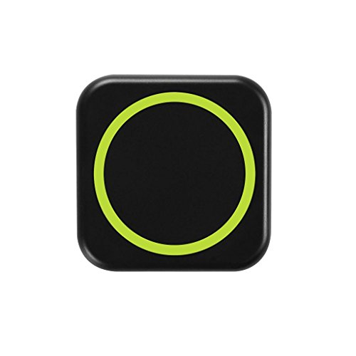 Wireless Charging Pad For Samsung Galaxy S3 ,Jokeret Portable Wireless Charger Power Bank With Receiver Black And Green