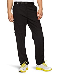 CRAGHOPPERS Mens Classic Kiwi Zip Off Convertible Walking Trousers - Black, 30 Inch Short