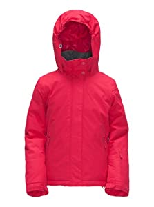 Roxy Girl's JETTY GIRL SOLID JK EU-Jetty Solid EU Snow Jackets - Red, 16 Years (Old Version)