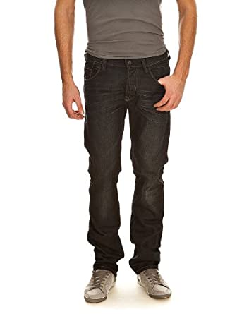 Jeans REGULAR NEW BLUE BLACK OLD/ENCRE TEDDY SMITH W40 Homme