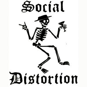 Amazon.com: Social Distortion - Stickers - Peel & Rub: Automotive
