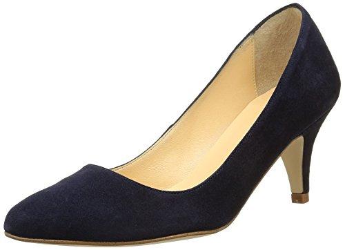 Jonak11393 - Scarpe con Tacco Donna , Blu (Bleu (Velour/Bleu)), 38