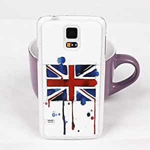 Retro British Flag Pattern PC Back Case for Samsung Galaxy S5