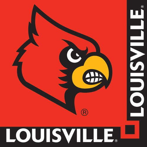 Creative Converting Louisville Cardinals Beverage Napkins (20 Count)