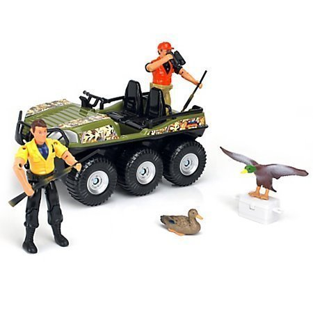 Imagination Adventure Duck Hunting Play Set Includes Figures 9 Pieces