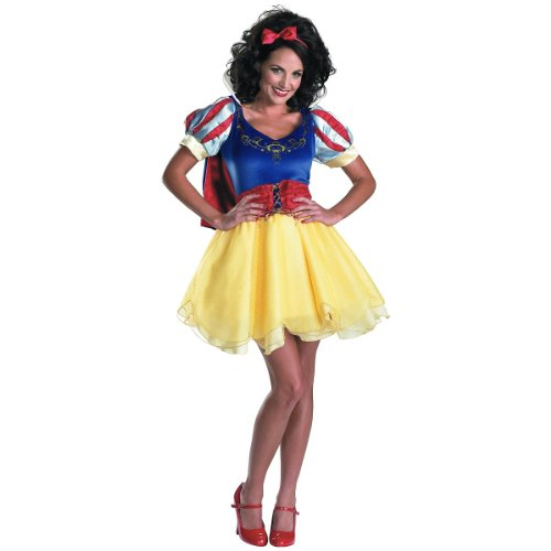 Snow White Sassy Prestige Costume - Teen