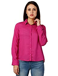 Oxolloxo Women pink smart shirt