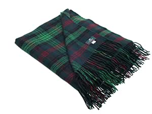 Hunting Ross Tartan Lambswool Throw