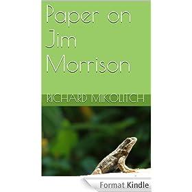 Paper on Jim Morrison (English Edition)