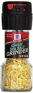 McCormick Garlic Sea Salt Grinder, 1.58-Ounce (Pack of 6)