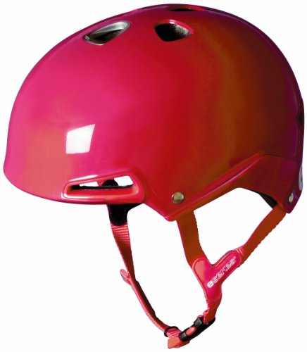 Etto Uni Fahrrad-/Skateboardhelm E-Series, imperial red, 54-60 cm, 366102