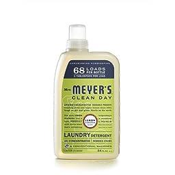 Mrs. Meyer\'S Liquid Laundry Detergent Biodegradable Lemon 34 Oz