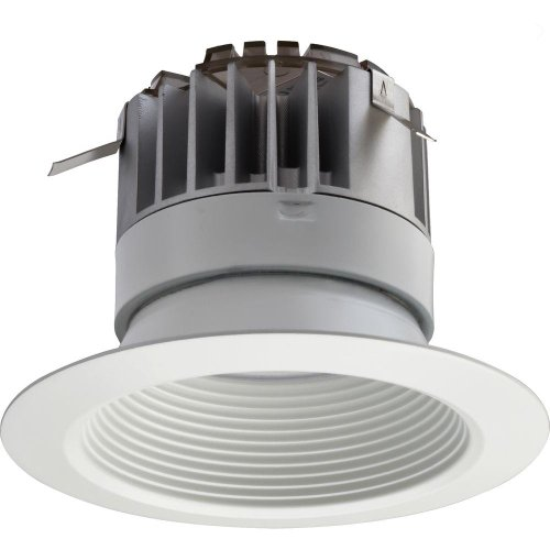 Lithonia Lighting 4 In. Recessed White Led Baffle Downlight