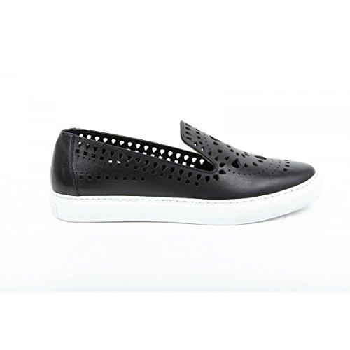 mocassino donna versace 19.69 abbigliamento sportivo milano ladies loafer b2327 piuma nero -- 39 it - 9 us