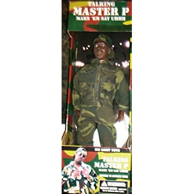 Amazon.com: Talking master p make 'Em Say Uhhh Doll