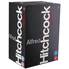 Hitchcock 14 Disc Box Set - Vertigo/ The Birds/ Rear Window/ Marnie/ Frenzy/ Topaz/ The Trouble With Harry/ Torn Curtain/ Psycho/ Family Plot/ Saboteur/ Shadow Of A Doubt/ Man Who Knew Too Much/ Rope [DVD]