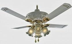 Breezalit Venus 48-inch 65-Watt Ceiling Fan (Glossy Ivory)