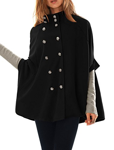 allegra-k-women-stand-collar-double-breasted-worsted-poncho-coat