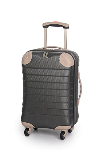 it-luggage-palermo-charcoal-grey-expandable-corner-protector-535cm-cabin-hard-shell-spinner-suitcase