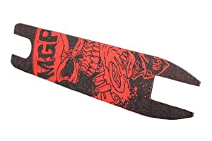 MGP Shock Madd Hatter Grip Tape with 10 Stickers (Red)