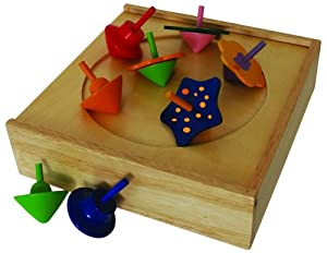 ImagiPLAY Spinning Top Set
