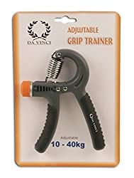 Da Vinci Adjustable Hand Grip Strengthener, Best Hand Exerciser with Resistance Range from 22 to 88 lbs (10-40 KGs) ...