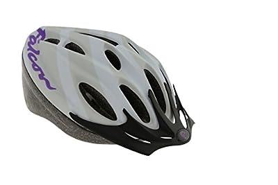 Falcon Women's Bike Helmet - White/Purple, 58-62 cm from Falcon