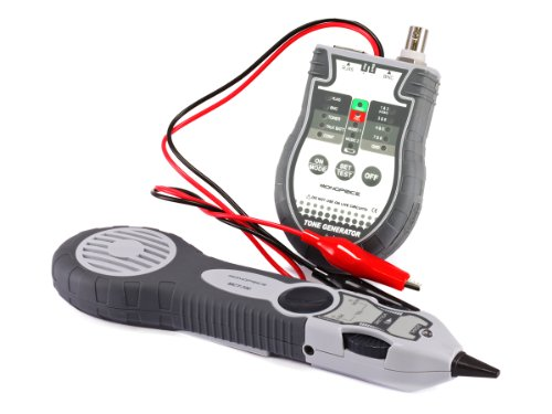 Monoprice Multifunction RJ-45, BNC and Speaker Wire Tone Generator/Tracer/Tester (108132) (Wire Tracer Tone Generator compare prices)