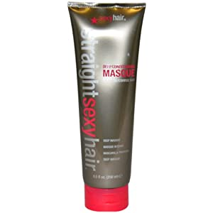 Straight Sexy Hair Deep Conditioning Mask By Sexy Hair for Unisex Mask, 8.5 Ounce