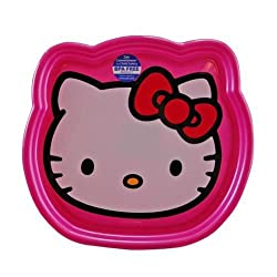 Sanrio Hello Kitty Shaped Plate(2 Pack)