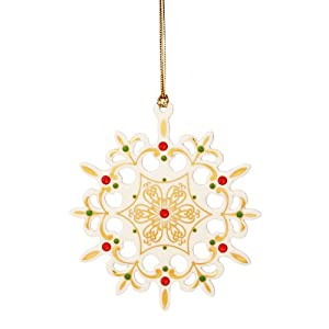 2013 China Jewels Snowflake Ornament by Lenox