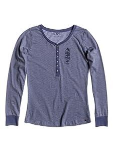 Roxy Damen T-Shirt Henley Tee  Stripe, lid henley str, S, WTWJE873-PNS1